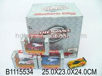 Popular toy 24pcs die cast pull back racing car