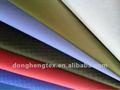 a prueba de agua 210t tela de tafetán de nylon tejido con revestimiento de pu