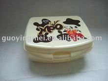 heated plastic children lunch box