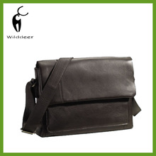 Men's Leather Shoulder/Messenger/Document/Satchel Shoulder Laptop Briefcase Bag-G007