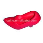 high-heel shoe phone holder