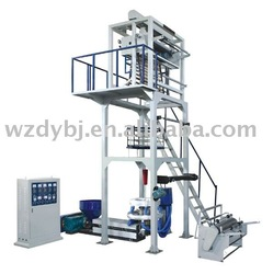 Plastic HDPE, LDPE Film Blowing Extruder Machine