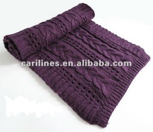 2012 european girls winter fashion acrylic scarf