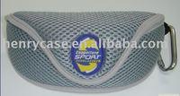 2014 popular EVA eyewear bag/case yellow zipper for sunglasses