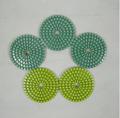 """(4 """") Tampón para 100mm- almohadillas húmedas para pulir flexibles del diamante"""