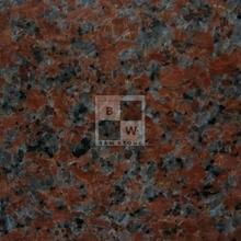 Maple red granite block