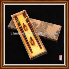 Chinese lunar new year wood chopsticks gifts