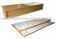 STRATA wooden cremation coffin from china manufacturer