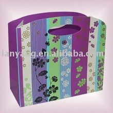 cheap logo printed shopping bags cheap paper bags (FX-6)