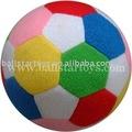 balón de fútbol relleno del colorfull de la felpa