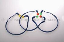 colorful ABS banded pu foam ear plug