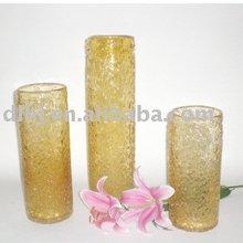 Colored Glassware in Amber