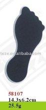 58107 big foot shape plastic foot file