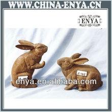 Animal Figure/Statue/Sculpture, Metal rabbit crafts