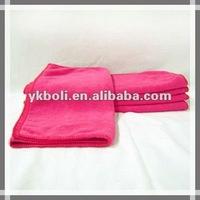 Microfiber bath towels for swimming