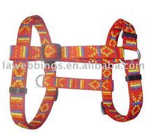 jacquard dog harness