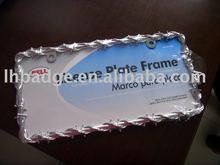 euro sizes license plate