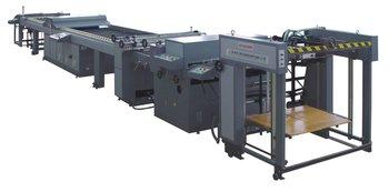 ZUVC Series Automatic UV Coating Machine UV coater varnishing machine