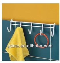 PE coating metal wire Door hooks(5 hooks)