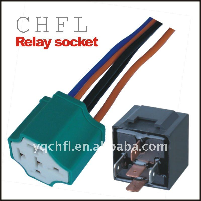 4 and 5 Pin Relay Socket ( Automotive Relay Socket for Wiring Harness)