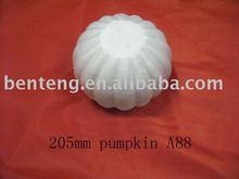 2013 best-selling white foam craft artificial pumpkin halloween