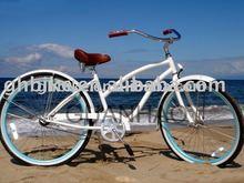 "26"" single speed women lady beach cruiser bicycle"