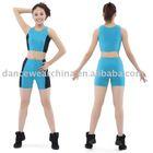 Women's Two-tone Suit,Gym Wear,Dance Wear