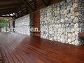 Exterior de bambú / flotante piso