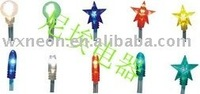 led string light/star shape led string lights/kinds of shapes light
