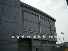 Custom-made metal curtain wall
