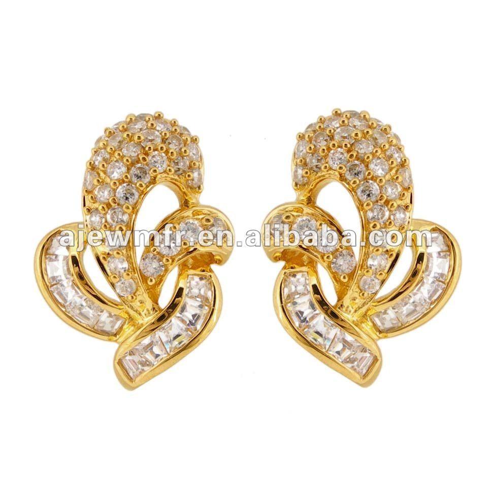 Earring gold new design 4g