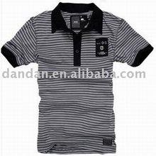 cotton spandex fashion men's polo t-shirt