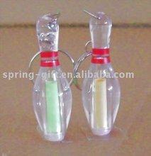 hot sale gift item acrylic bowling pin key chain