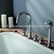 5 Hole Bath Shower Faucet,Bathtub Faucet,Basin Facut, Range126