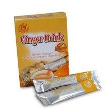 ginger instant tea --- health food GMP manufacturer