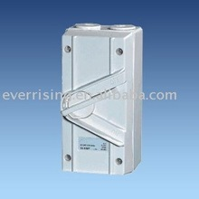 High quality UKF series 1P~4P 20A-63A IP66 Industrial Isolation waterproof switch