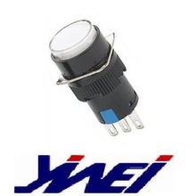 momentary contact switch(YW4-404 3A125V 1A250V AC M16)