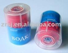 Top-opening plastic bottle lid