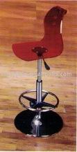 crystal barstool chair