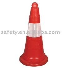 hot sale light reflective visiable PVC or PE safety road cone