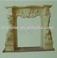 chimenea de mármol