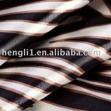 poly spandex satin printed Fabric/satin fabric/polyester fabric