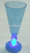 led flashing plastic champagne cup