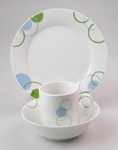 12PCS Dinner Set,Porcelain With Decal