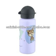 Cute aluminum kid drinking bottle