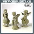 Ange statues, / Figurines, Antique métal artisanat pour décor à la maison