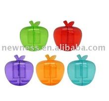 Apple shape toothbrush holder