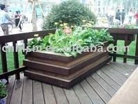 eco out door wpc flowerpot/garden pot