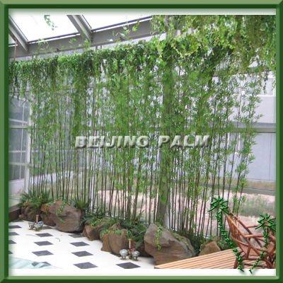 Bambu artificial outros ornamentos para jardim e - Bambu planta exterior ...