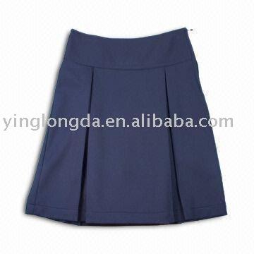 uniforme de la escuela faldas